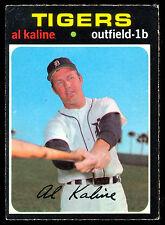 1971 OPC O PEE CHEE BASEBALL #180 AL KALINE EX+ DETROIT TIGERS CARD