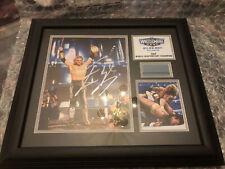 WWE Edge Autographed Plaque Wrestlemania 27 2011  Aew Legend Attitude Era Lucha