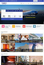 Travel Holiday HOTEL FLIGHT & CAR complete Online Travel Booking WebSite