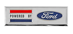 New!  Ford MUSTANG Shelby Bronco Powered by Ford Stick On Fender Emblem Each