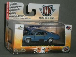 1/64th M2 Machines Detroit Muscle R28 1969 Pontiac GTO Judge