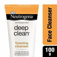 Neutrogena Deep Clean Foaming Cleanser, 100 gm Long-Lasting Oil Control