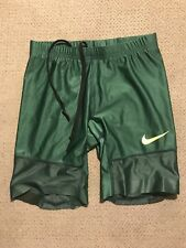 Men's Nike Pro Elite Green Compression Running Shorts Small S