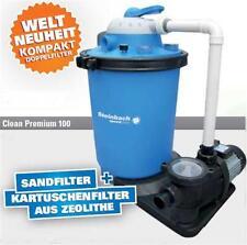 Sandfilter-anlage + Schaltuhr Doppelstufenfilteranlage Speed Clean Premium 100