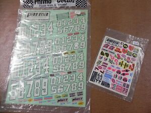PARMA DECAL SHEETS