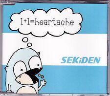 Sekiden - 1+1= Heartache - CD (RED017 Redline 4 x Track)
