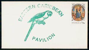 Mayfairstamps Antigua 1977 Parrot Eastern Caribbean Pavillion Christmas Cover ww