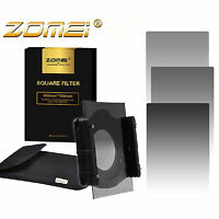 Zomei 4*6in. Square Filter ND2/4/8 Neutral Density Graduated Gray for Cokin Z