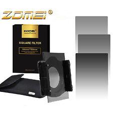 100mm Neutral Density ND248 Square Filter Kit+Holder+77mm Ring for Cokin Z-PRO