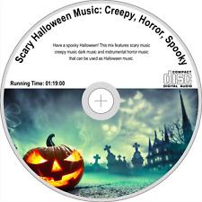 Scary Halloween Music: Creepy Music, Dark Music, Horror Music, Spooky Music CD