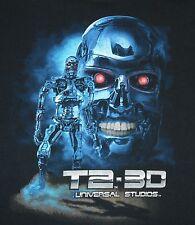 Universal Studios - T2-3D T-800 t-shirt - size S - small - Terminator 2
