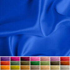 100% Pure Silk fabric Satin - 16 mommy - Multiple Colours - 45""