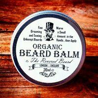 30ml Organic Beard Balm by Revered Beard Premium Quality Taming & Styling Butter