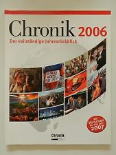 Chronik 2006 der vollständige Jahresrückblick Chronik Verlag +