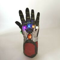 Iron Man Infinity War Gauntlet Gloves Marvel Avengers 4 Endgame w/LED Light