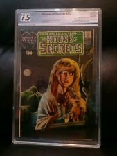 House of Secrets #92 DC COMICS PGX 7.5 VF- (1st appearance of Swamp Thing)