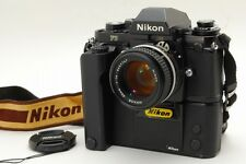 [Exc+++++] Nikon F3 35mm SLR Film Camera MD-4 + Ai-s 50mm f/1.4 From Japan #061