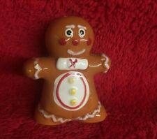 Ceramic Gingerbread Man Salt Shaker