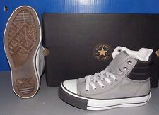 """CONVERSE """"CHUCK TAYLOR"""" CT PADD COLL HI in colors GREY / WHITE MENS 4 WOMENS 6"""