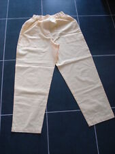 SUMMER COTTON TROUSERS ** YELLOW ** DASH** SIZE 10.