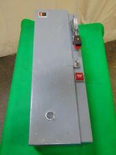 Cutler Hammer Combination Motor Starter Enclosure Box