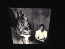 """Robert Meatyard """"Man With Torn Posters"""" American Photography 35mm Slide"""
