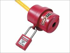 Master Lock - Lockout Electrical Plug Cover Small for 120 - 240 Volt.
