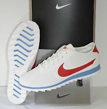 New Nike Womens Cortez Ultra Moire Forrest Gump Summit White/Blue/Red sz 10