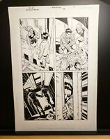 SUPERMAN BATMAN Issue #36 Page 02 - Original Comic Book Art Work by Pat Lee