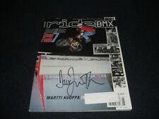 Ride BMX Magazine May  2001 Signed