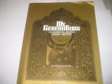 My Generations, a Course in Jewish Family History by Arthur Kurzwell  Genealogy