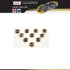 VOLKSWAGON HEX M8 COOPER SELF LOCKING CARS EXHAUST MANIFOLD NUTS HEAD STUD