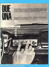 QUATTROR963-PUBBLICITA'/ADVERTISING-1963- VOXSON - AUTORADIO