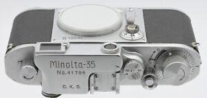 Boitier MINOLTA-35 N°41798 Osaka Japon Vers 1953