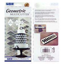 PME géométrique Multicutter de gâteau Glaçage coupeur diamant 0.75/1/ 1.25 pouce