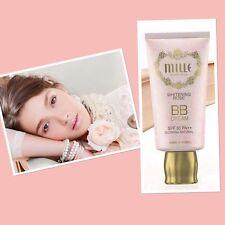 Mille Whitening Rose BB Cream SPF30++ Brightening Glowing Natural  30g.