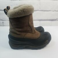 THE NORTH FACE Women's 7 Pull On  Waterproof Insulated Snow Boots Leather