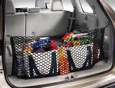 Rear Trunk Cargo Net Mesh Storage Organizer fit for Subaru Forester Black
