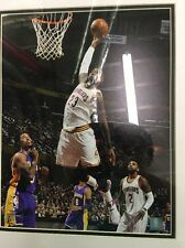 """New Framed Sports """"in Action"""" Picture Of Lebron James Vs. Lakers 11x14"""