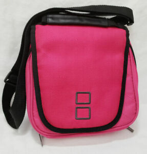 Official Nintendo DS System Console Carrying Case Pink Soft Shoulder Strap logo