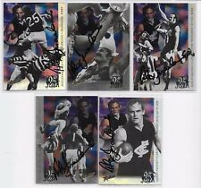 1995 JUST JEZZA 5 CARD INSERT SET HANDSIGNED WITH ACTUAL PHOTO PROOF