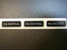 """Printed Stickers, 2,000 Custom Labels, 1/2"""" x 1-1/2"""" Rectangle Business, 1-Color"""