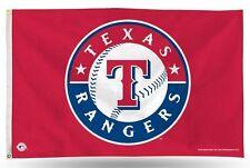 "Texas Rangers MLB Banner Flag 3' x 5' (36"" x 60"") ~NEW"