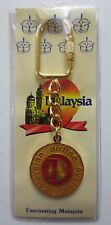 Malaysian Airline System Metal Keychain Malaysia New & Never Used (016T)