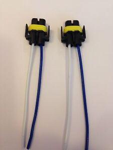 H11/H8 Bulb Socket Connector x 2 SPOT LIGHT/FOG LIGHT, CHEAPEST ON EBAY