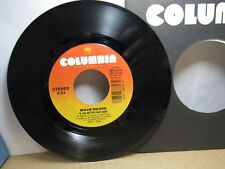 Old 45 RPM Record - Columbia 38-73374 - Willie Nelson - Is the Better Part Over