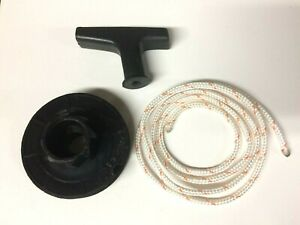 HOMELITE CHAINSAW STARTER PULLEY, ROPE & HANDLE FITS SUPER 2, XL, XL-2, 240, 245