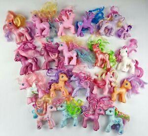 20 Bulk My Little Pony Toys 2002 2004 2006 2007 2014 Hasbro Figurines Birthday