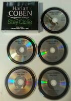 AUDIO BOOK CD - Harlan Coben Stay Close 5 CD Audio Book Read By Scott Brick