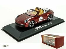 Porsche 911 Targa 4S #50 Heritage Design Edition cherry red 1:43 Minichamps WAP